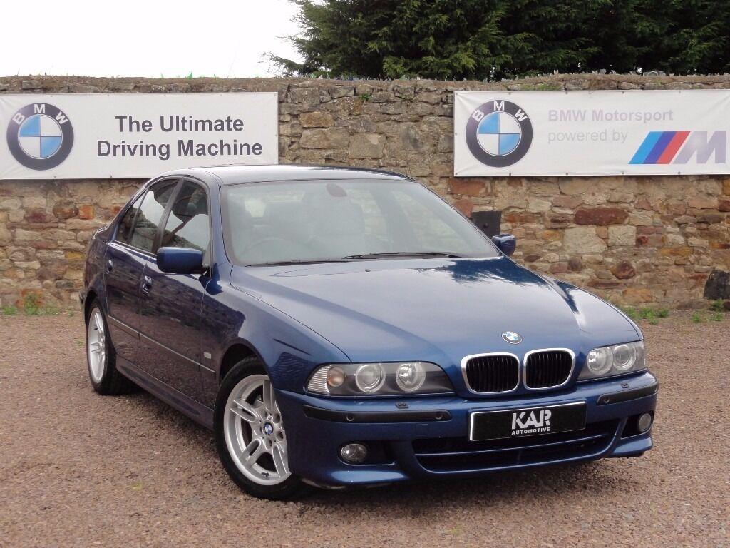 BMW E39 530i M Sport Saloon, Manual, FBMWSH, 99k Miles, 2001/51 Reg ...