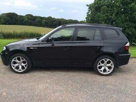 2007 BMW X3 2.0d SE Facelift 4x4 Leather Excellent Condition