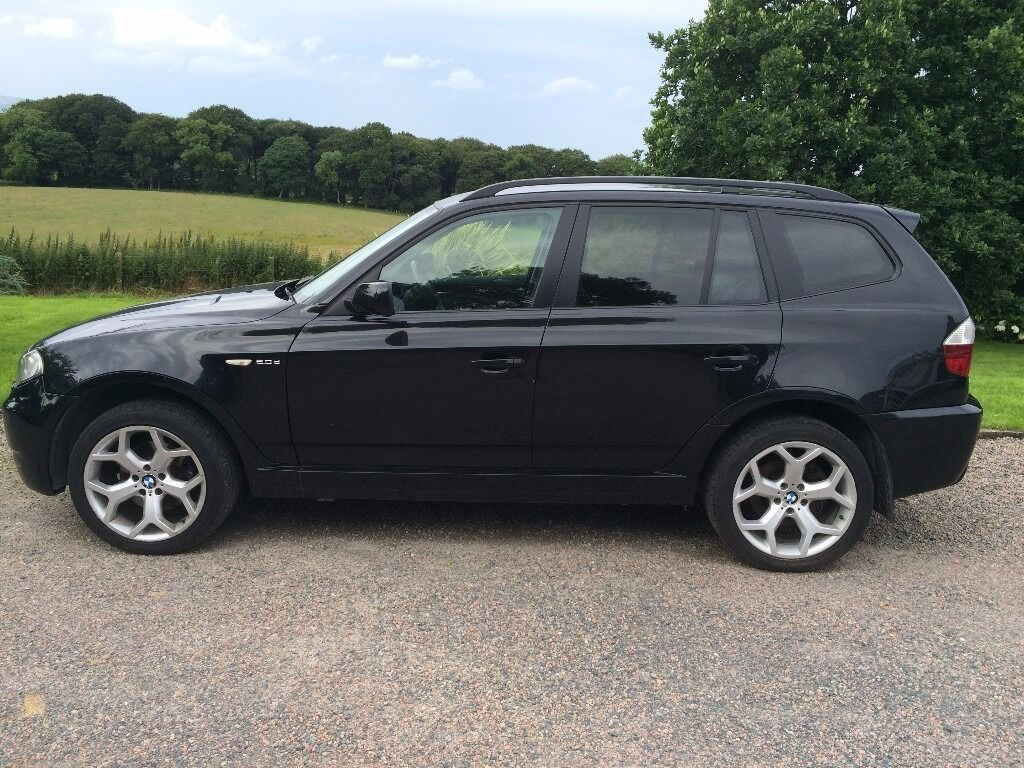 2007 BMW X3 2.0d SE Facelift 4x4 Leather Excellent Condition