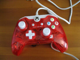 GENUINE ROCK CANDY XBOX ONE CONTROLLER WITH CABLE IN RED
