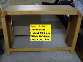 Brand New Console Table Reduced Further
