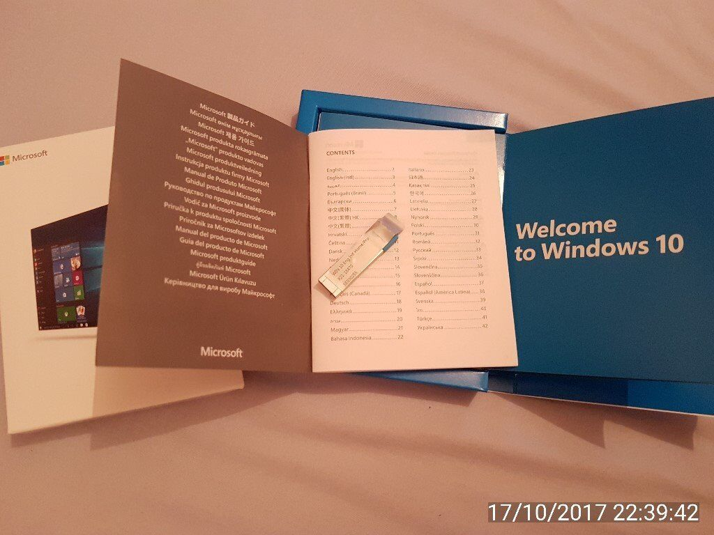Windows 10 Home with licente