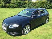 Audi A4 AVANT 2.0 TDI S Line (CVT) 2007 Auto Phantom Black