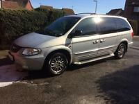 Chrysler grand voyager drive away £750