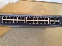 Netgear Prosafe S3300 28x switch