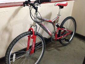 Cheap mans mountain bike