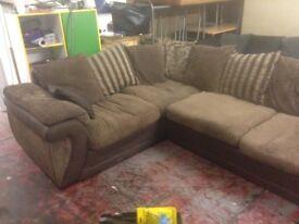 large corner sofa left handed