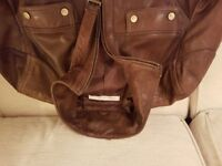 Kenneth Cole New York-Vintage Leather Jacket
