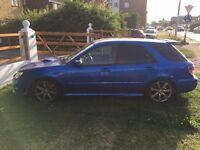 Subaru Impreza WRX many many mods and upgrades, extremely fast car