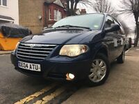 8 SEATER CHRYSLER GRAND VOYAGER 2.8 CRD DIESEL AUTOMATIC LOW MILAGE 63k