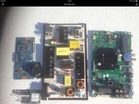 Hisence H55M3300 tv parts