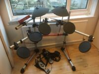 Yamaha DTXpress III complete with power chord (Electronic Drum Kit)