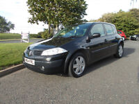 RENAULT MEGANE EXPRESSION AUTOMATIC HATCHBACK BLACK 2004 BARGAIN ONLY 650 *LOOK* PX/DELIVERY