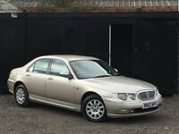 ★ ROVER 75 1.8 CONNOISSEUR + AUTO + LEATHER + LOW 76K MILES ★