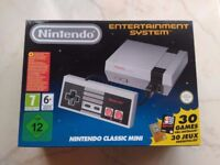 Nintendo Nes Mini New in Box never opened! 30 Games Instaled