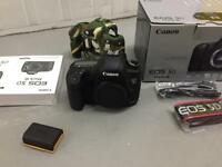 Canon 5D Mk III box manuals perfect