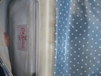 Cath Kidson blue polka dot bag