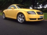 AUDI TT 1.8T QUATTRO 225 BHP RARE SPEC COLOR ,XENONS, BOSE, CRUISE CONTROL, FULL BLACK LEATHER