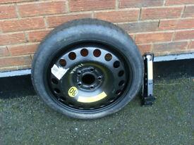 5 stud spacesaver wheel fits vauxhall