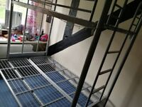 Triple bed frame for sale.