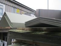 Roof Sheet Caps / Angle. £15 Each 3 Meter Lengths * Galvanized Powder Coated Steel*