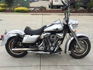 HARLEY DAVIDSON FLH 02/1995 MODEL CLEAR TITLE PROJECT MAKE OFFER Campbellfield Hume Area Preview