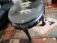 Antique Asian Art Coffee Table