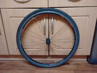 700c front wheel for sale with tyre and innertube