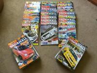 70 Total Vauxhall Magazines circa 2007-2012ish