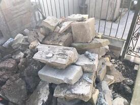 Free hardcore rubble