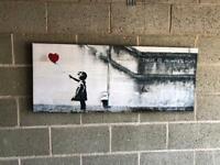 Banksy Canvas