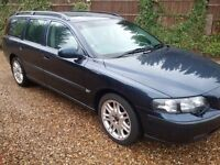 2001 VOLVO V70 T5 SE 2.3 PETROL AUTO 1 OWNER FROM NEW