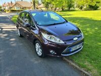FORD FIESTA / 5 DOORS / NEW SHAPE / 20 POUNDS ROAD TAX FOR YEAR / 1.4 DIESEL / MOT FEBRUARY !!