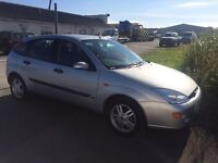 FORD FOCUS ZETEC 5dr, LOW MILES, FULL HISTORY AND NEW MOT.