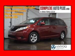2014 Toyota Sienna LE V6 8 passagers *TV/DVD, Camera recul, Port