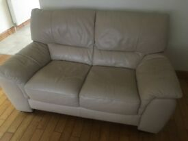 3 piece leather sofa