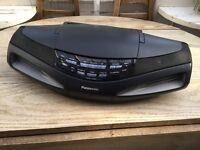 Panasonic RX-ED77 Boombox Ghetto Blaster Radio/Cassette/CD Player