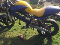 Cagiva Planet 125cc Motorcycle Project
