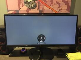"25"" widescreen LG monitor"