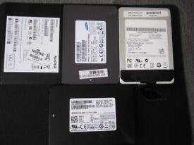SSD,128GB,256GB,480GB HDD 500,750GB,1TB SAMSUNG,SANDISK SATA III 2.5 Drive win10