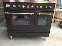 Britannia Range Cooker SI-EGT Black Used excellent condition