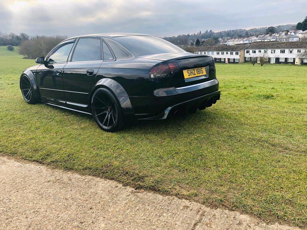 Audi A4 B7 S Line Wide Body Modified 350bhp In Watford