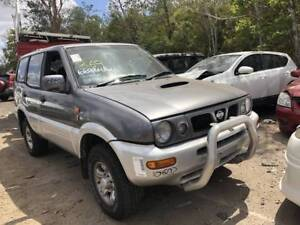 WRECKING 1998 MODEL NISSAN TERRANO DIESEL NO ENGINE PARTS Willawong Brisbane South West Preview