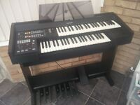 Small Organ/Keyboard - Technics SX-EA1 With Seat
