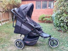 Phil and Teds double buggy pushchair