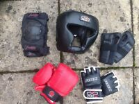 Various MMA and Sports Equipment