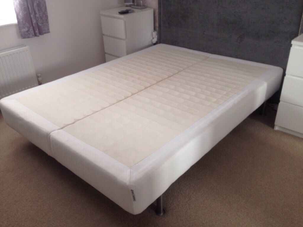ikea king size mattress base bed in irvine north
