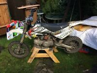 Demonx 140 pit bike