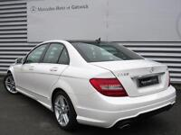 Mercedes-Benz C Class C220 CDI BLUEEFFICIENCY AMG SPORT (white) 2013-12-30