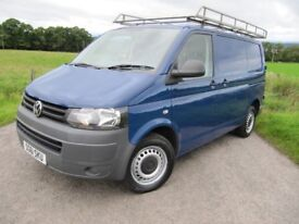Volkswagen Transporter T32 140 BHP 2011 / 61 Lined ~ Bulkhead ~ TOWBAR ~ Roofrack REDUCED TO £8,750